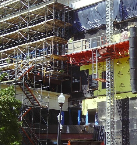 Stair Towers | Stair Tower Scaffolding Rentals | Suspended Scaffolding Installation | Texas